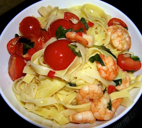 very quick, easy pasta