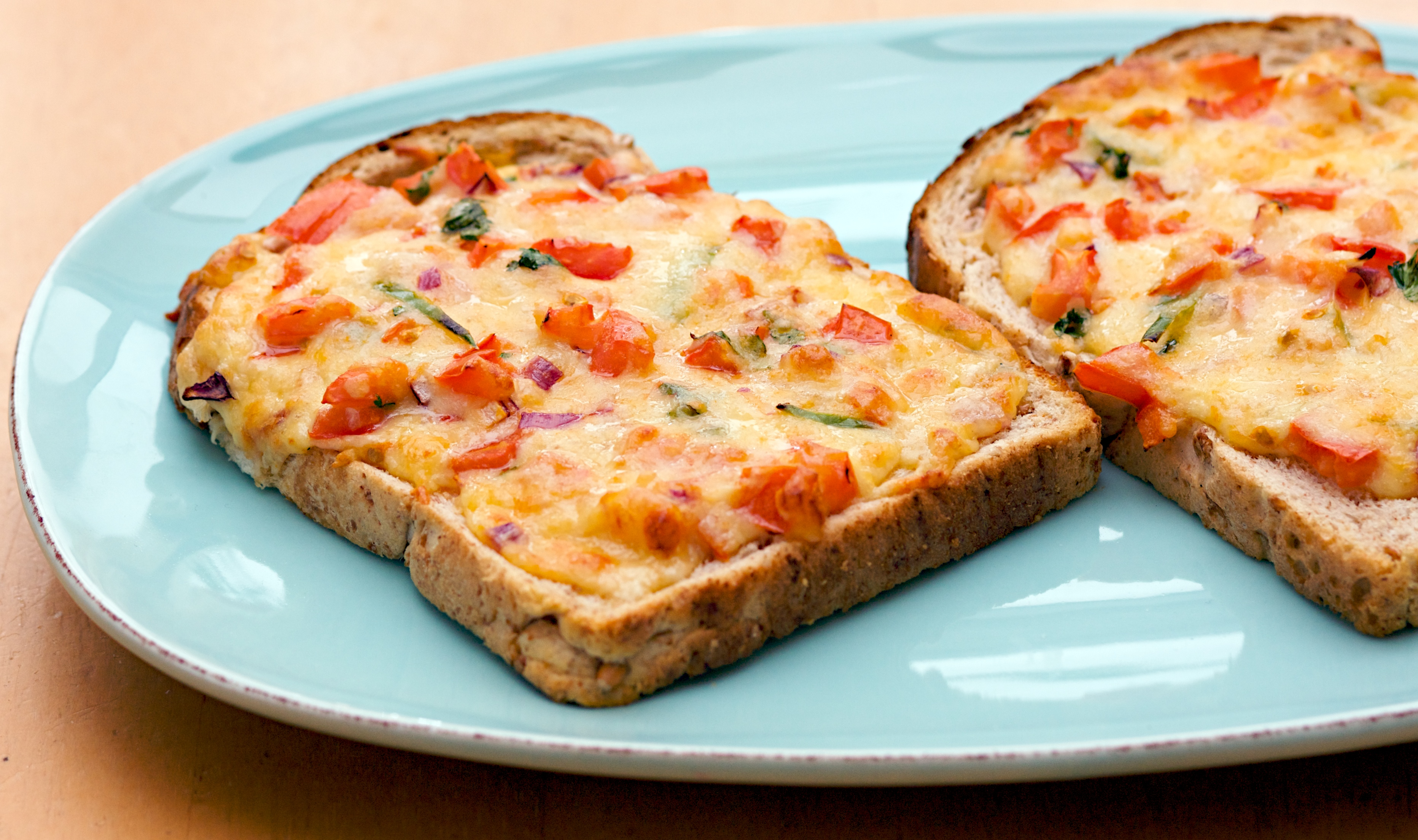 ... your regular cheese and toast and it s easy to throw together with