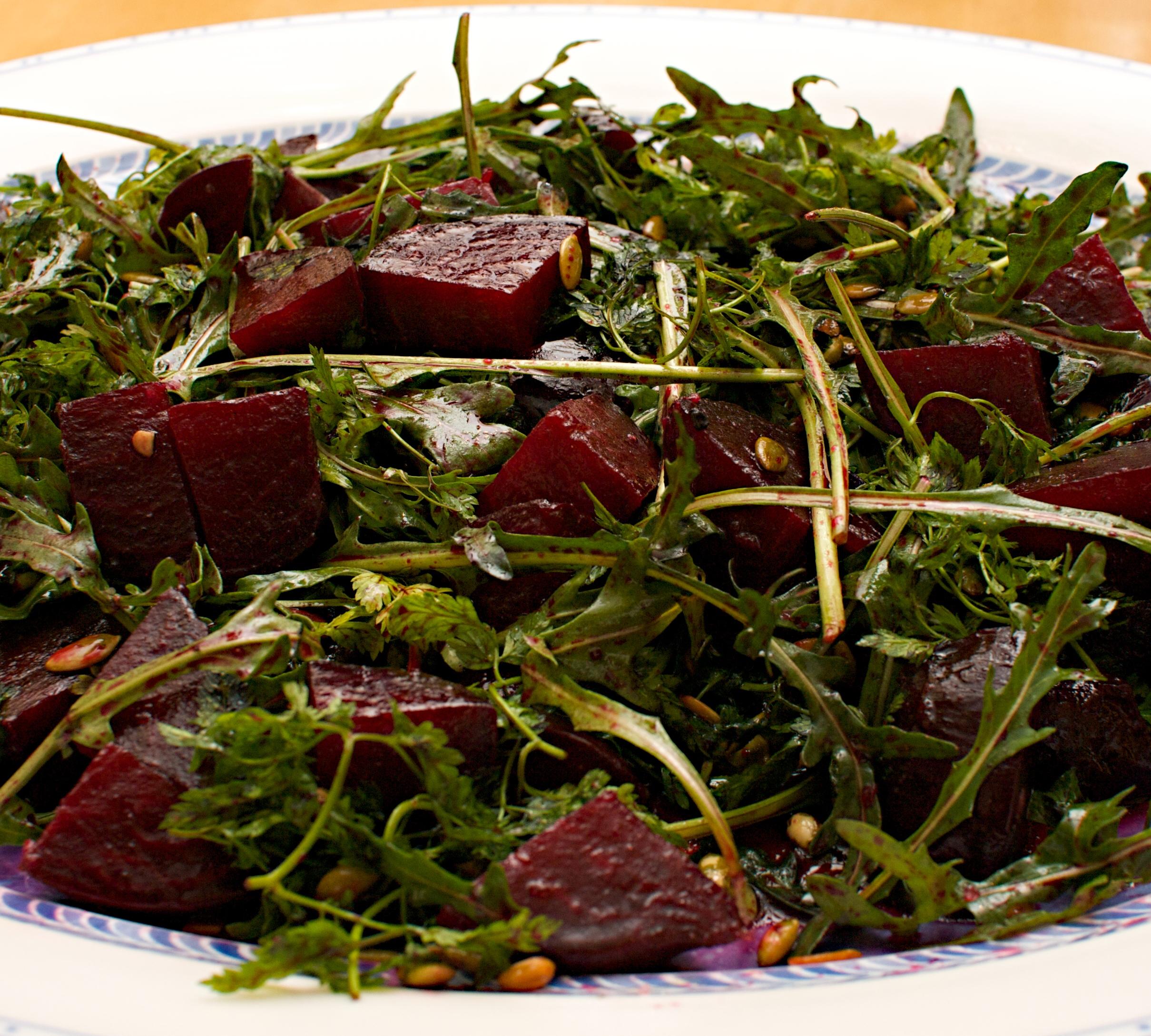 recipe: ottolenghi beetroot salad [4]