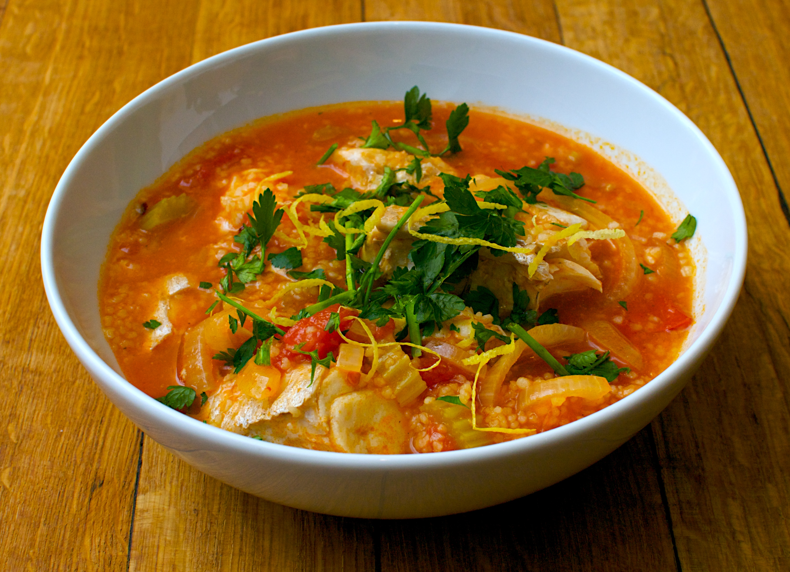 Sicilian-style Fish Stew | Jono & Jules do food & wine