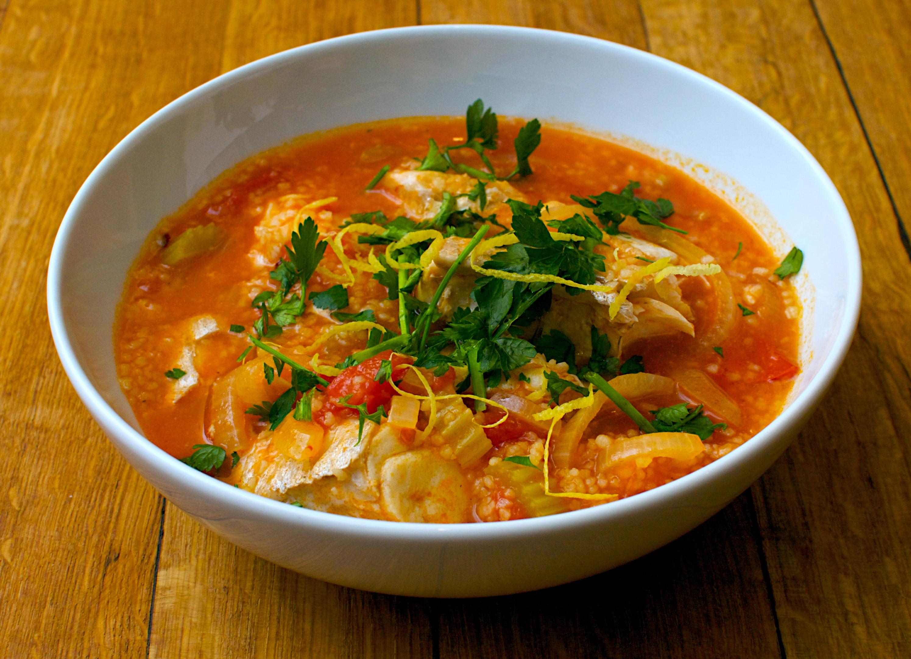 Sicilian style fish stew jono jules do food wine for Fish broth recipe
