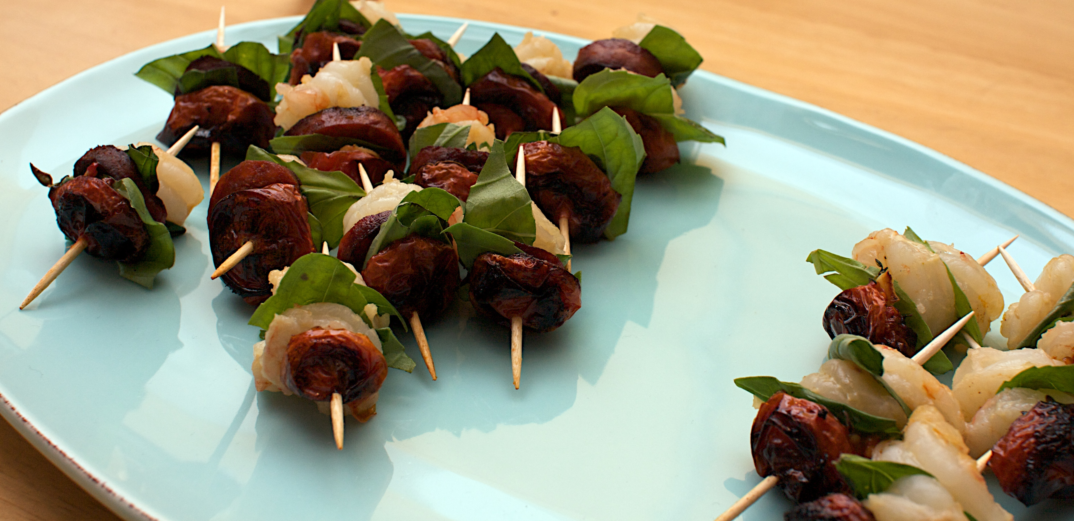 Recipe for Canape on Skewers