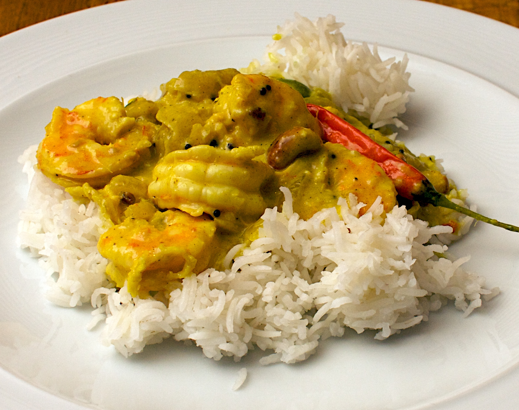 Prawn and Cashew Nut Curry