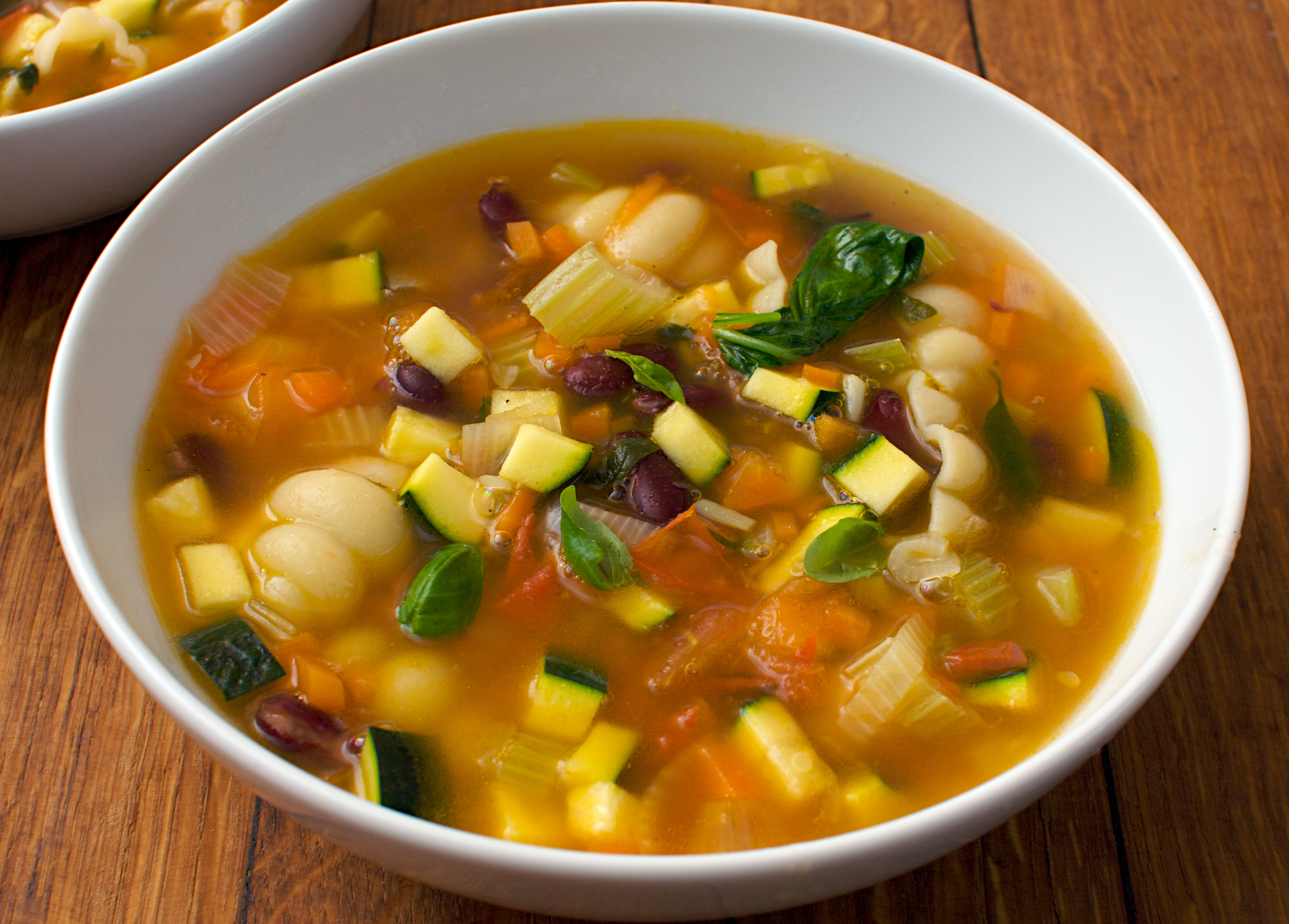 Superhealthy Minestrone | Jono & Jules do food & wine