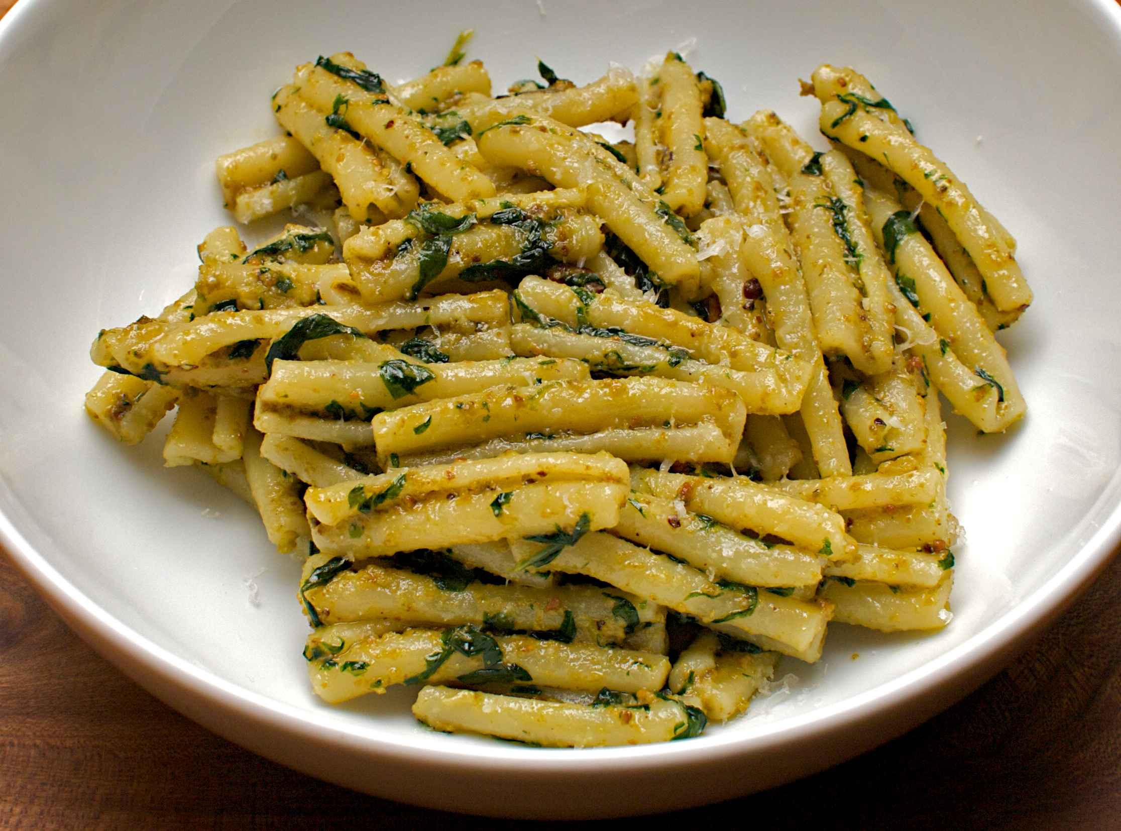 ... roasted broccoli penne with roasted broccoli and pistachio gremolata