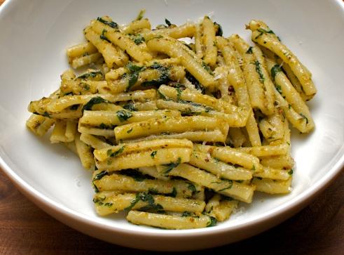 Casarecce with Pistachio Pesto | Jono & Jules do food & wine