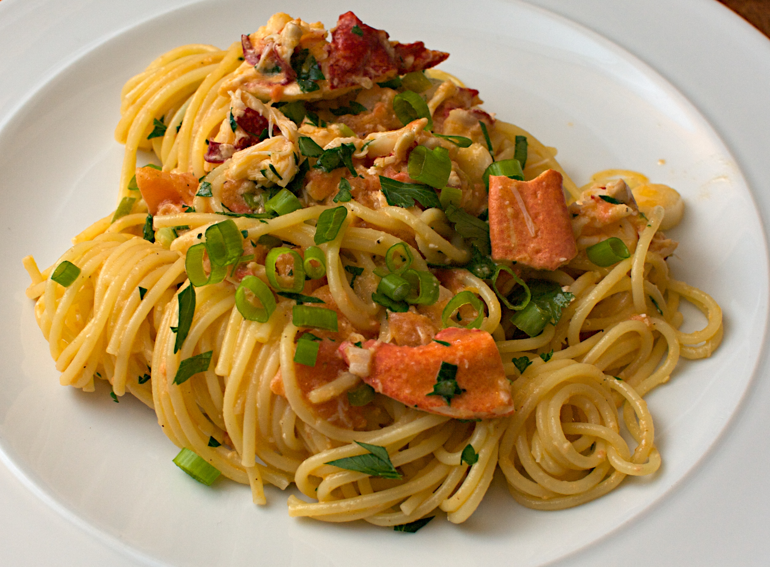 Spaghetti jono jules do food wine for How to make lobster pasta