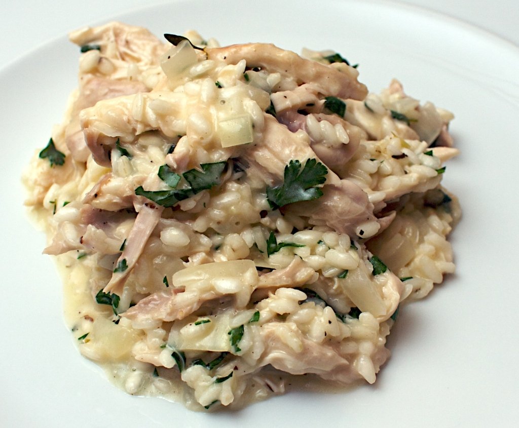 Creamy roast chicken risotto jono jules do food wine for How do i make chicken risotto