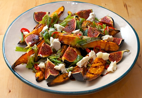 Roasted Sweet Potatoes & Fresh Figs | Jono & Jules do food & wine