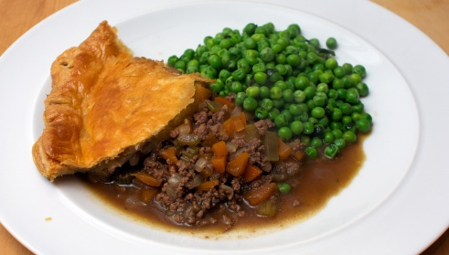 Jamie's Easy Meat Pie