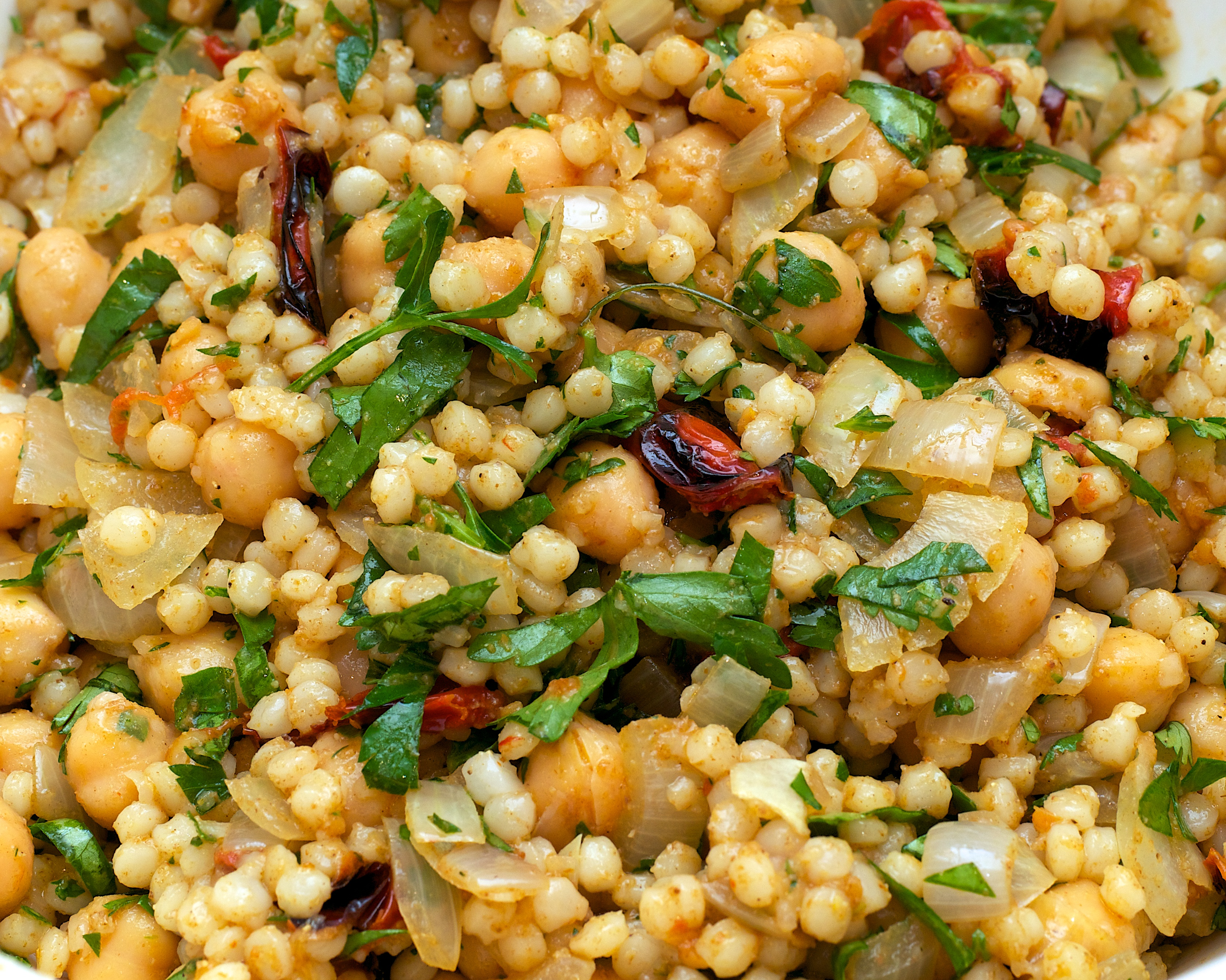 Watch Spiced Couscous and Chickpea Salad Recipe video