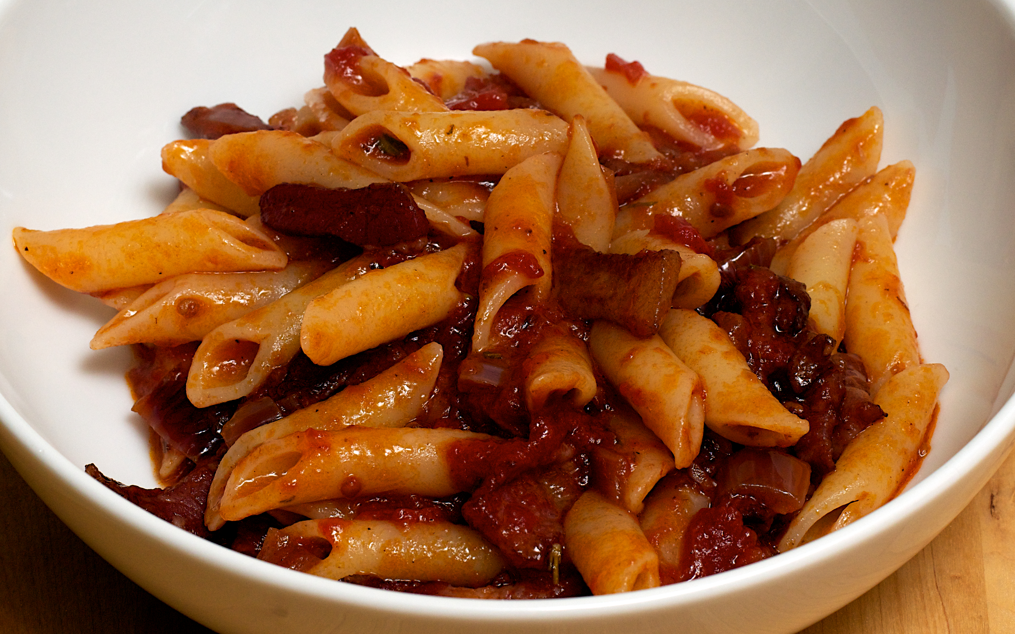 this is one of our favourite pasta sauces bucatini long spaghetti like ...