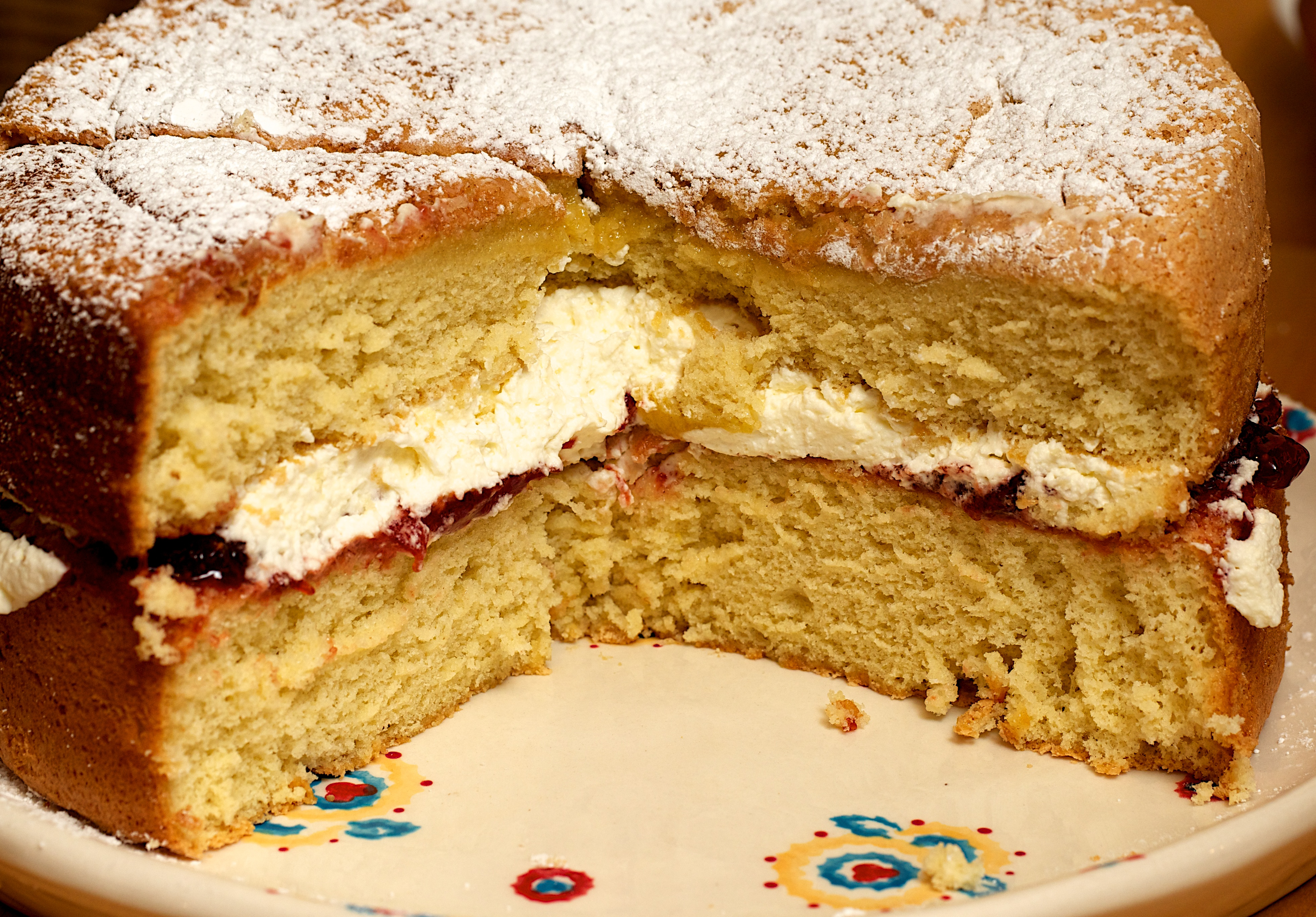 How Many Eggs For A  Cake Tin Victoria Sponge