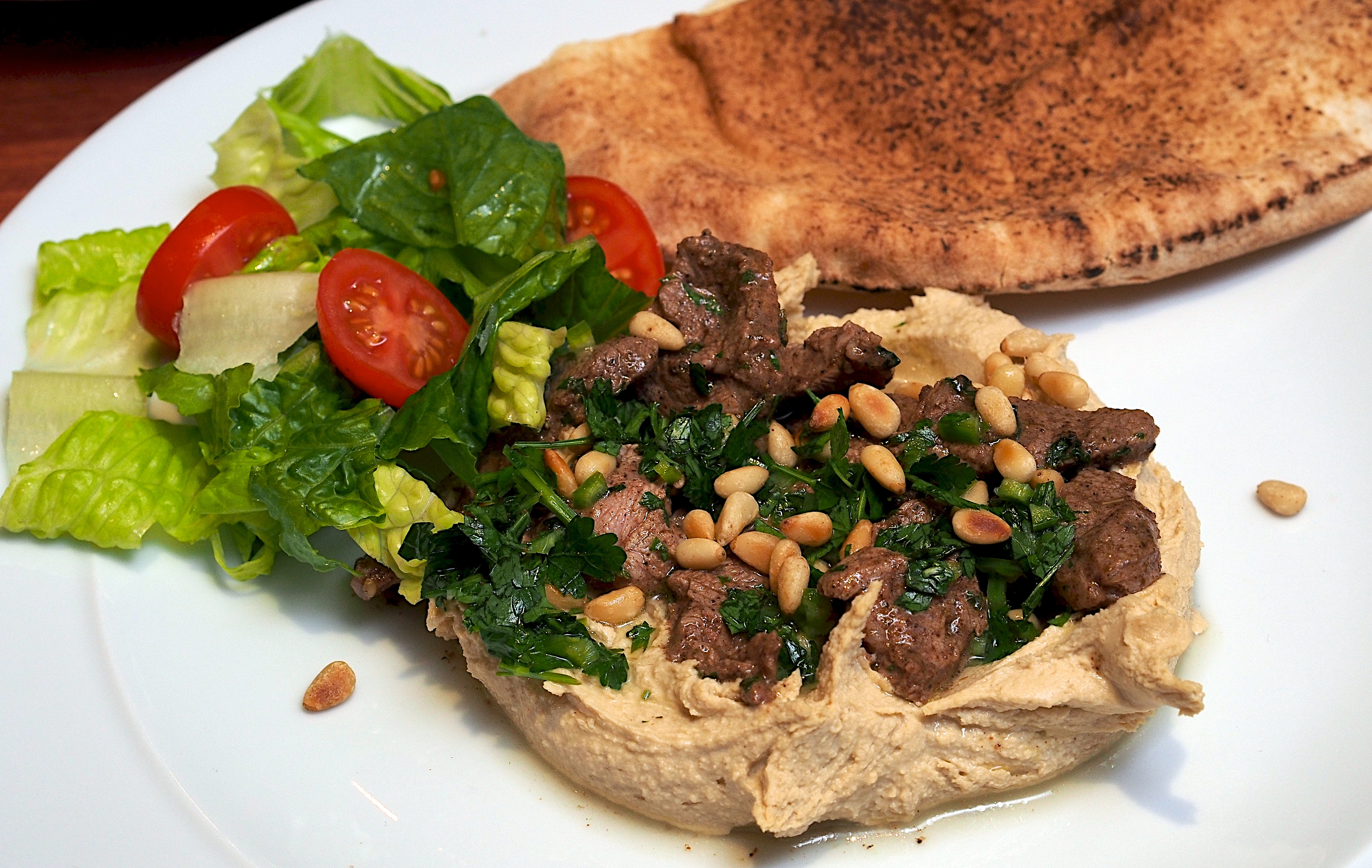 Hummus Kawarma (Lamb) With Lemon Sauce From 'Jerusalem ...