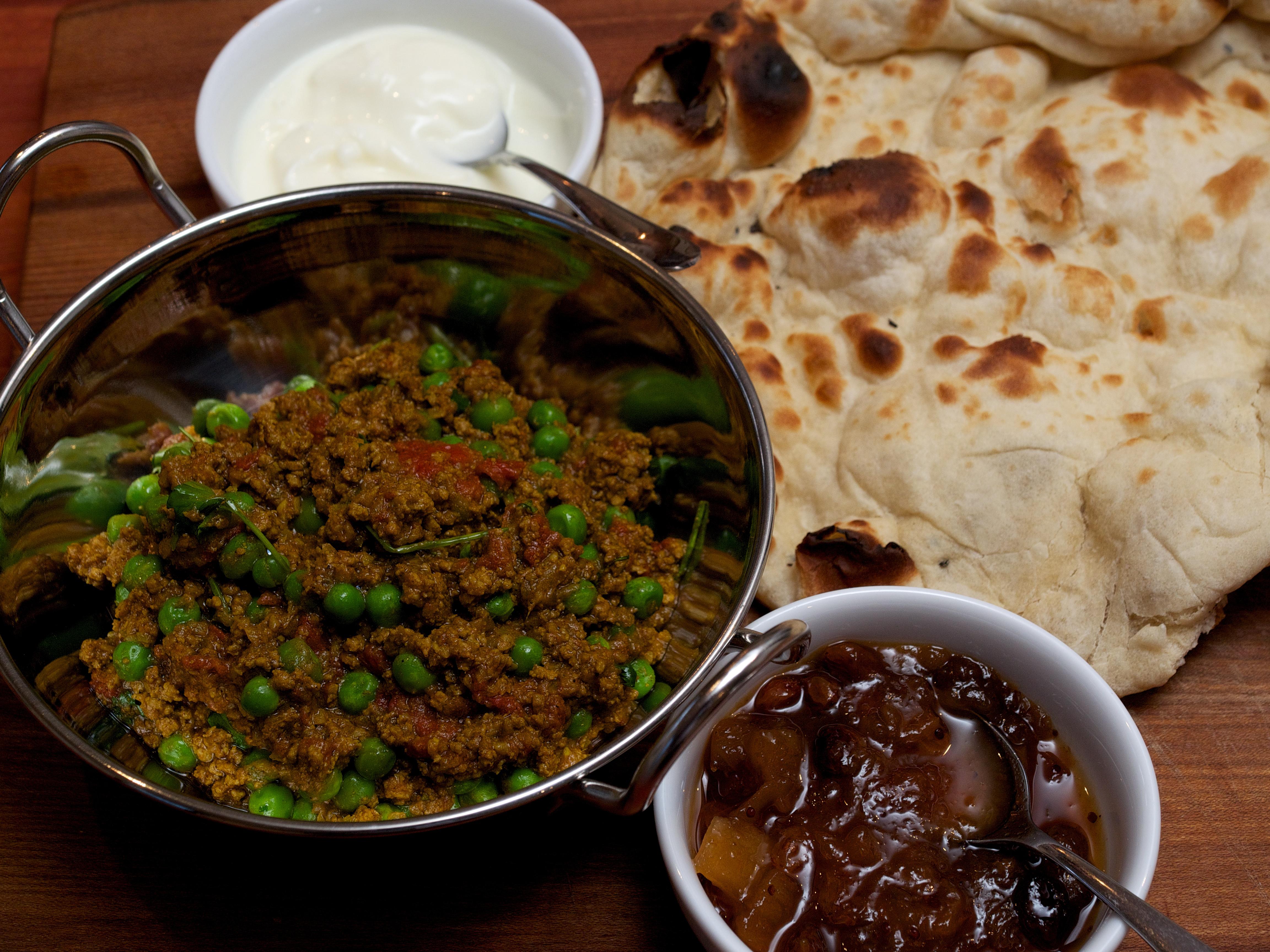 Lamb Kheema With Peas Recipe — Dishmaps