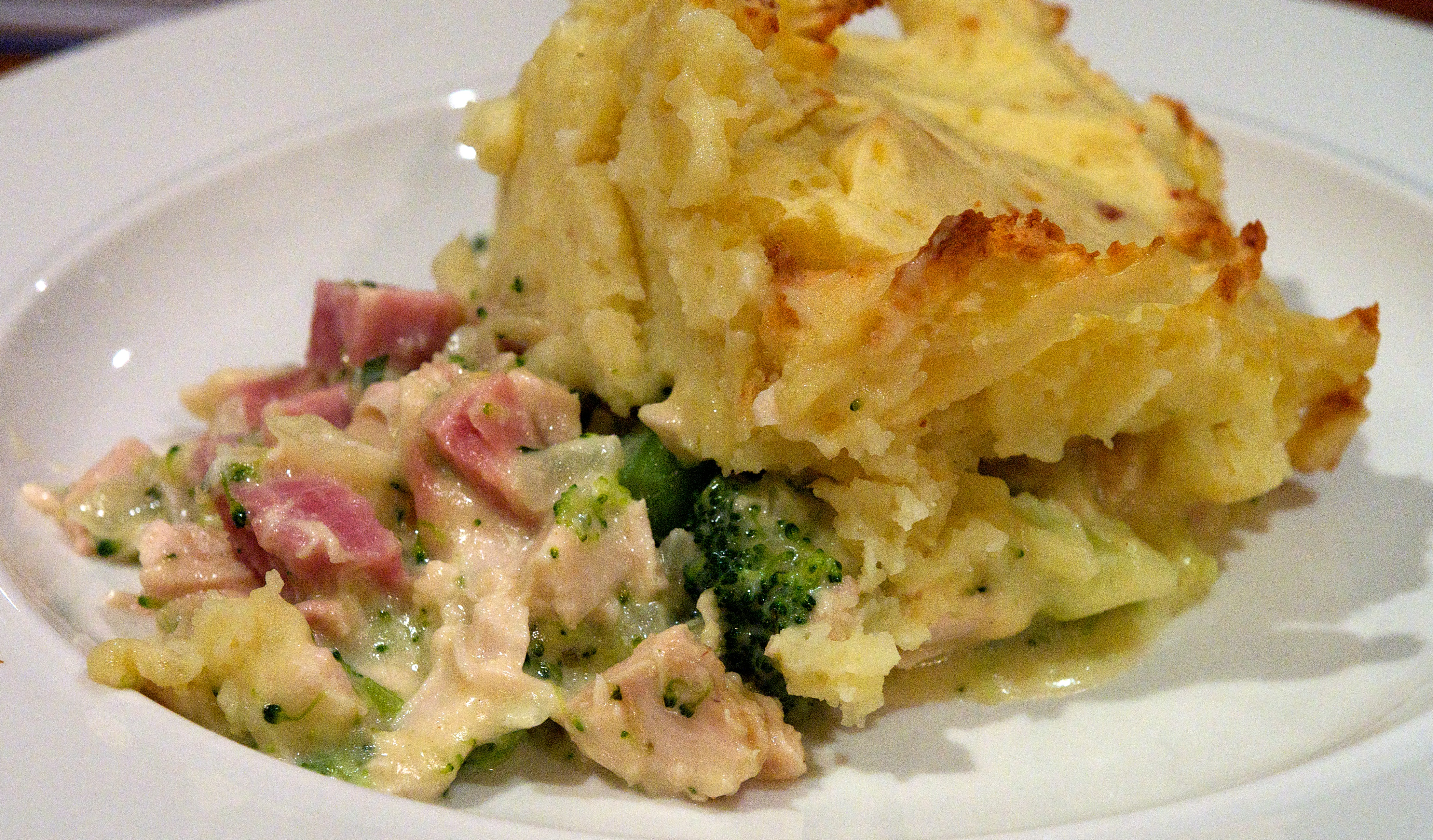Chicken, Ham, And Tarragon Pie Recipe — Dishmaps