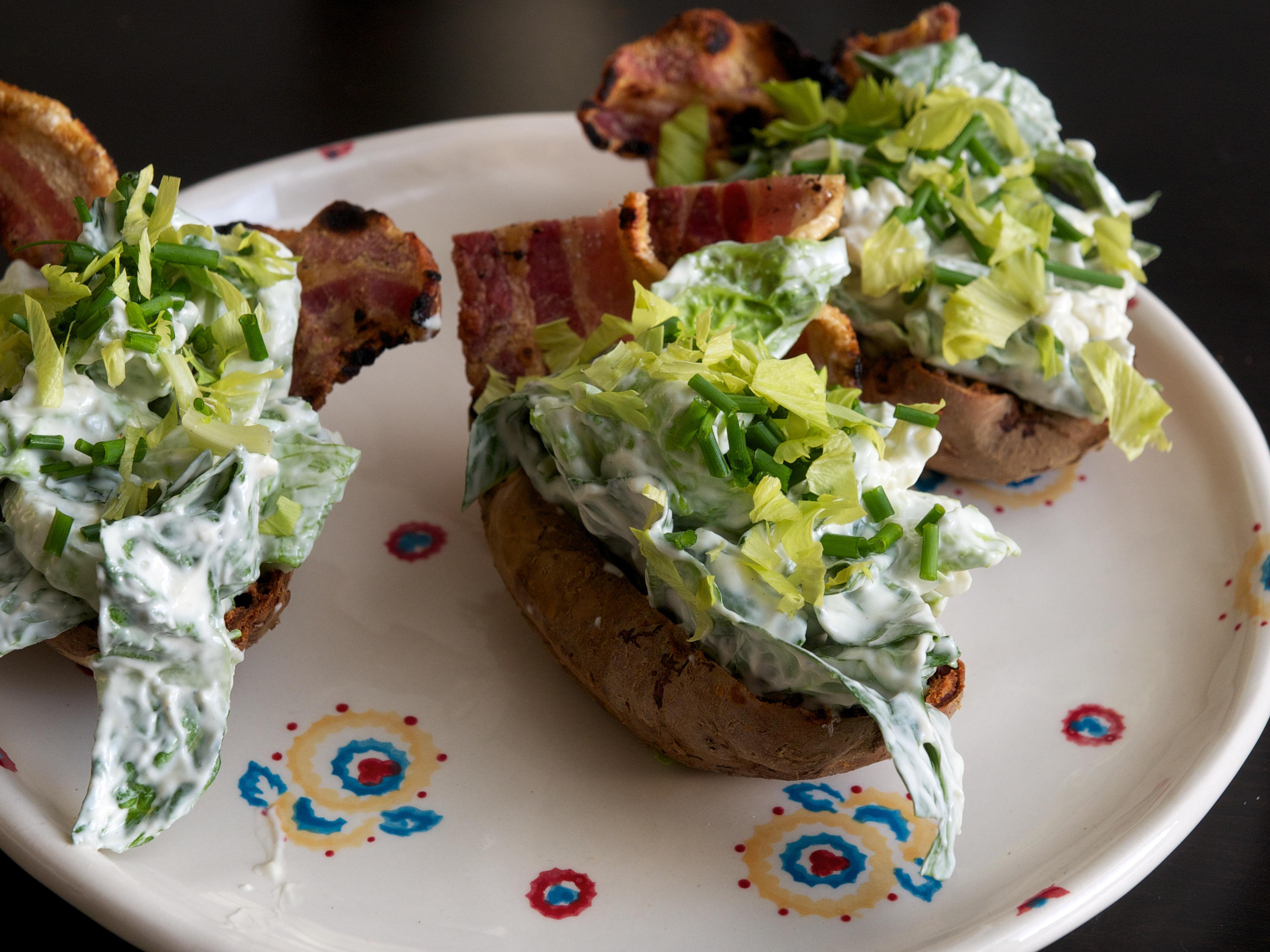 Crispy Potato Skins | Jono & Jules do food & wine