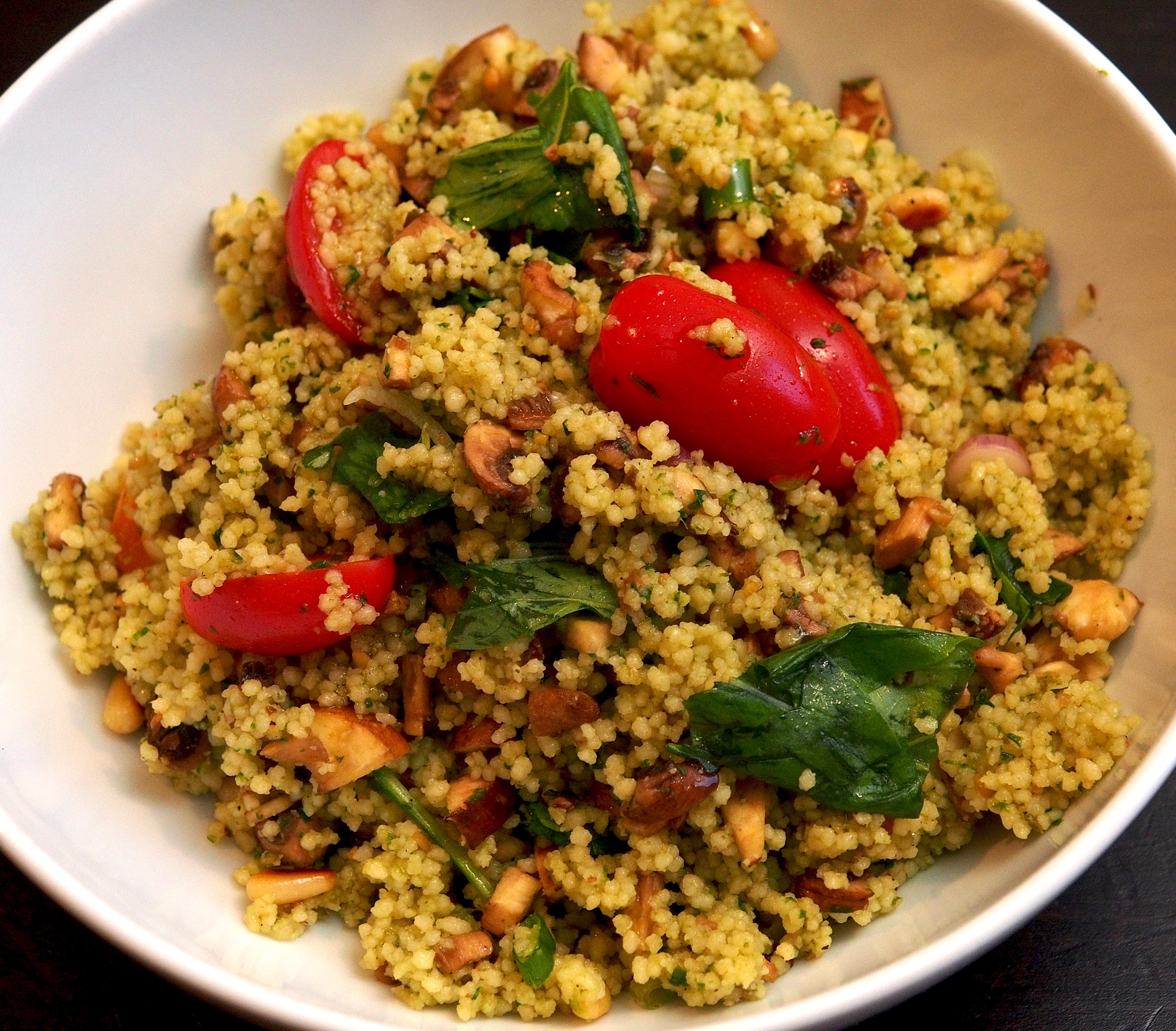 Thrill of grill couscous