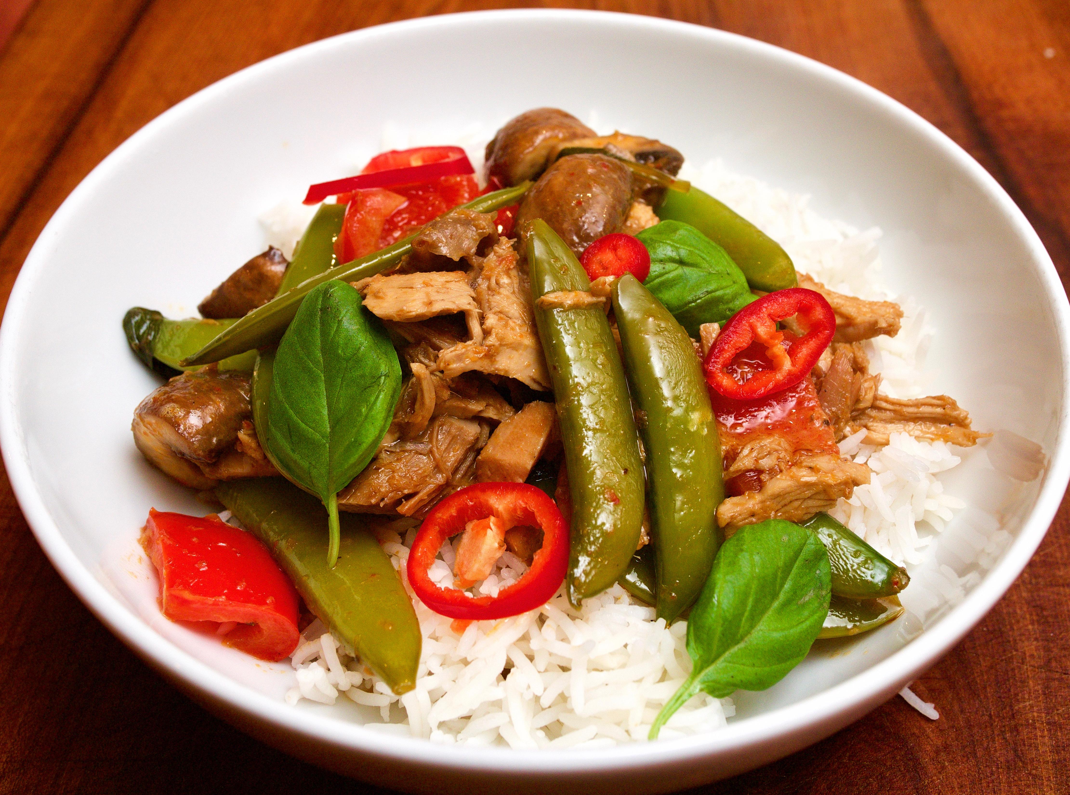 Thai Red Turkey curry