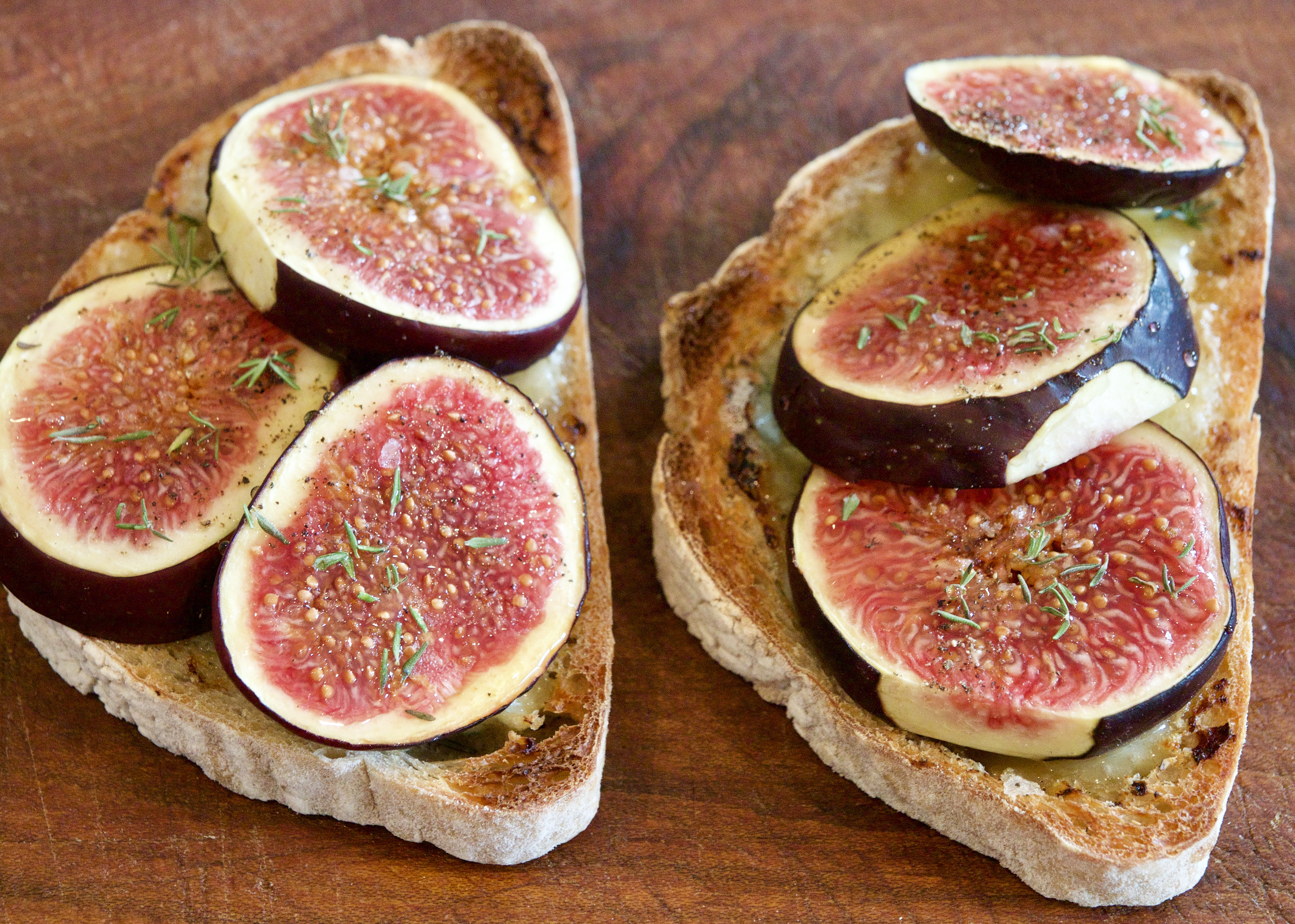 Fig & Gorgonzolha Tartines