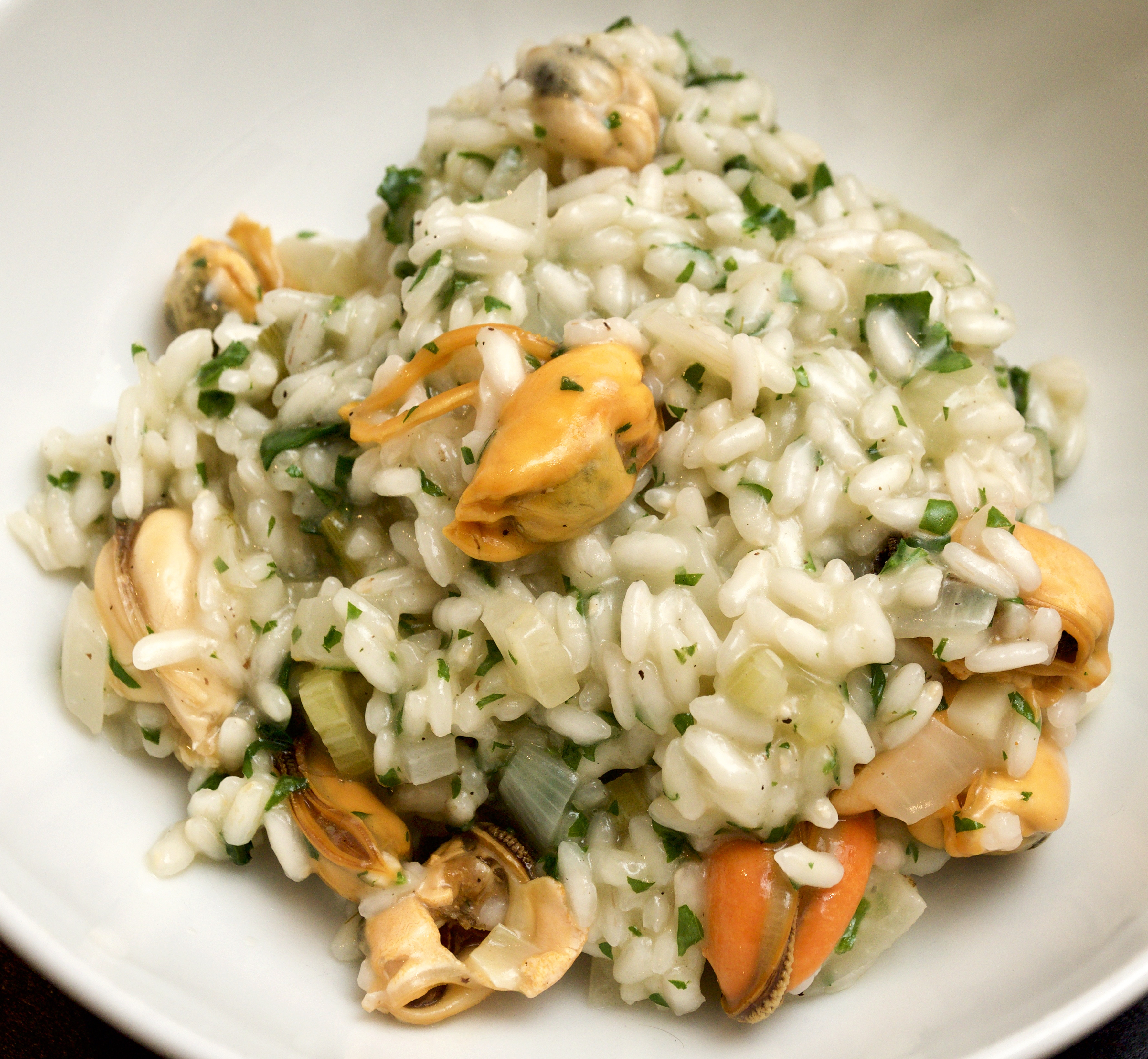 Mussel & fennel risotto