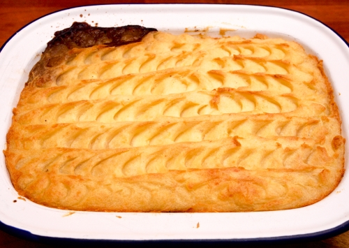 Beef Bourguignon Pie whole