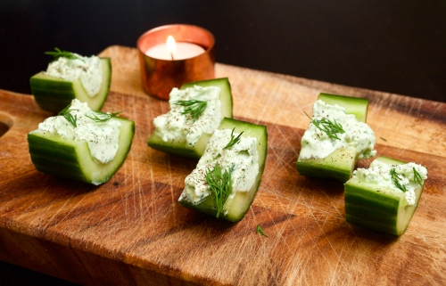 Feta & Cucumber Bites