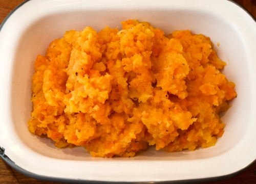 Carrot and turnip mash