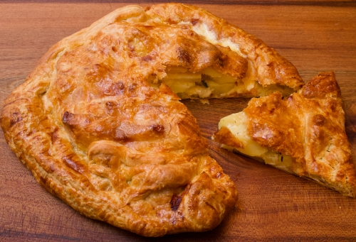 Potato Pie with Beaufort Cheese