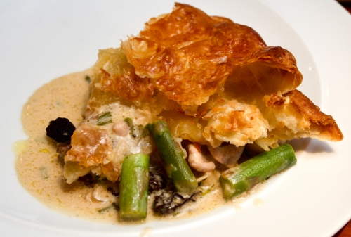 Chicken & Morel Pie