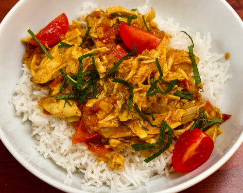 Left-over Chicken Curry