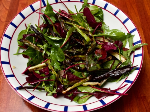 Watercress & Scallion salad