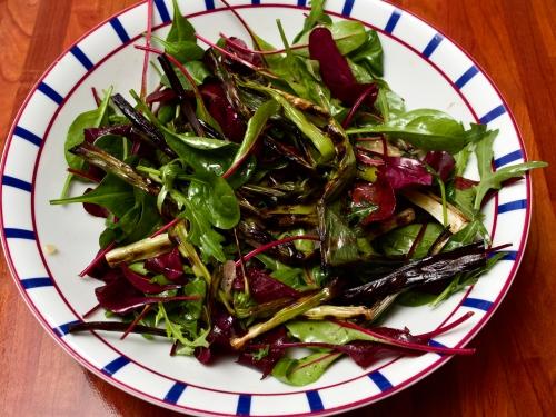Watercress & Scallion salad