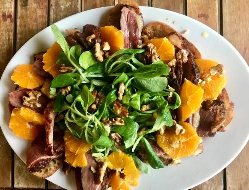 Duck & Orange Salad