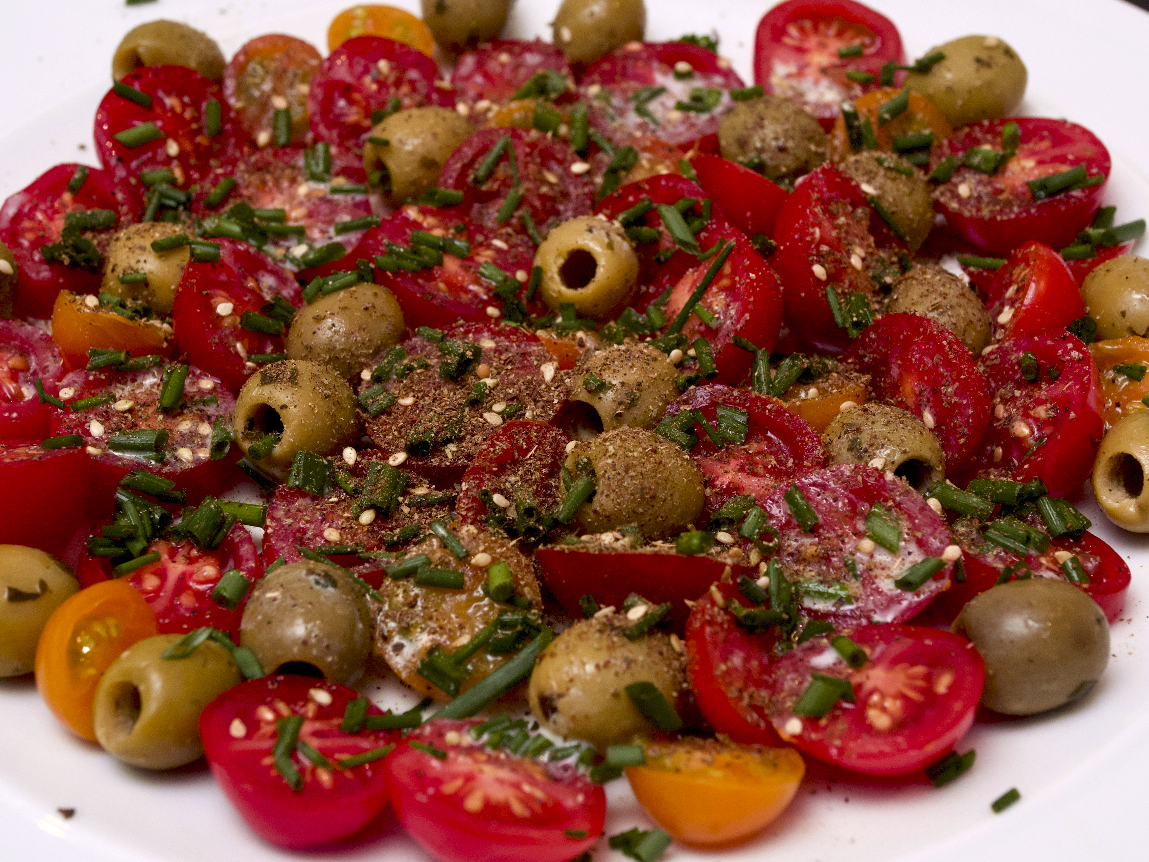 Tomato & Olive Salad