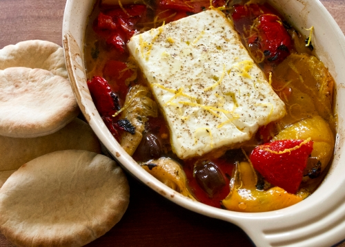 Roasted Feta