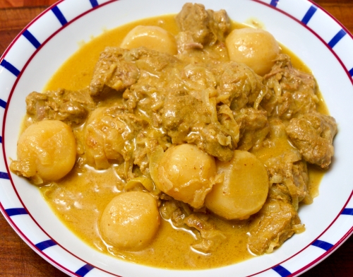 Mughlai Lamb with Turnips - Shabdeg