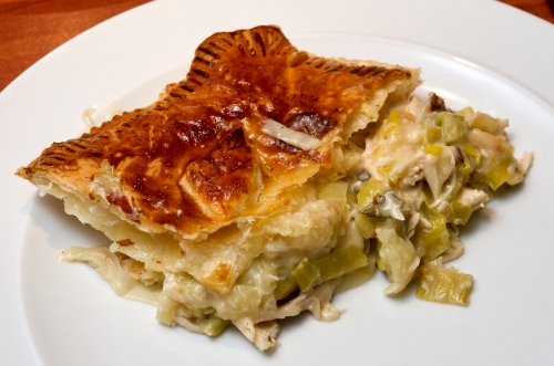 Chicken & apple pie