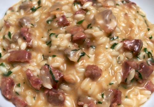 Cockle & Chorizo Risotto