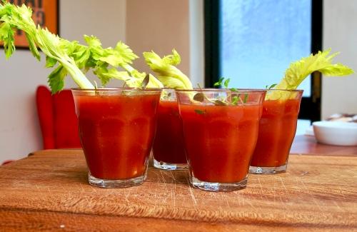 Horseradish Bloody Mary's