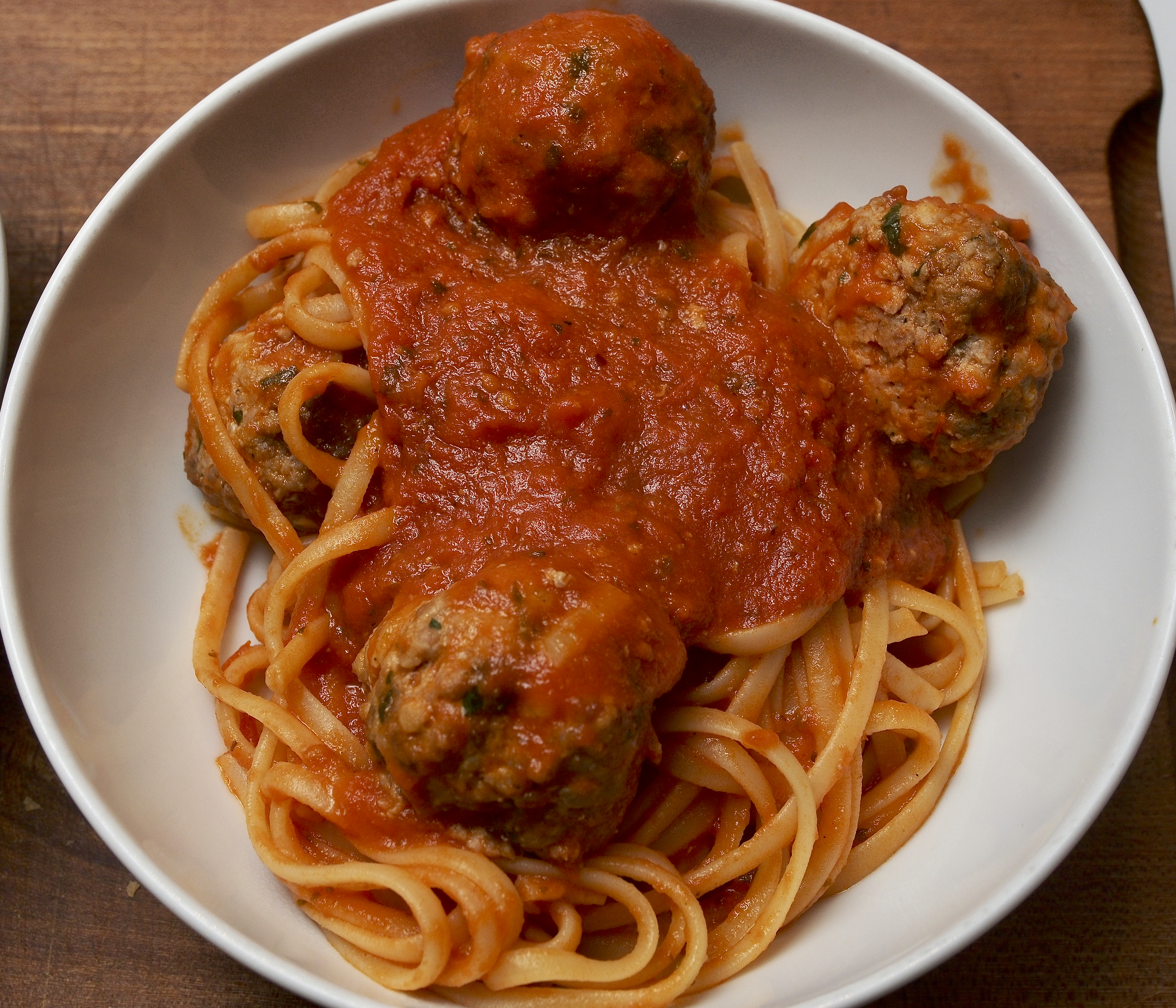 Pork & Beef Polpette with Tomato Sauce