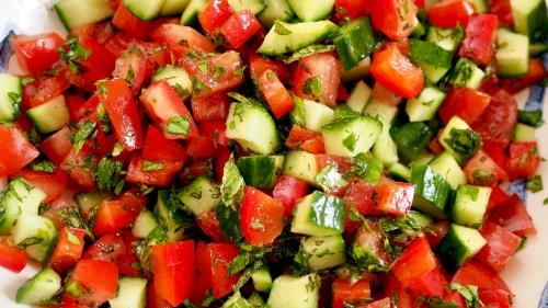 Everyday Palestinian Salad
