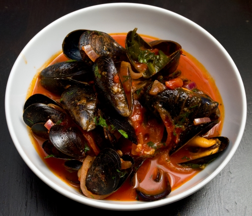 Spicy Dalboka Mussels