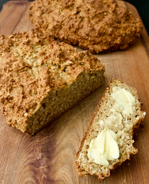 Maple Syrup and Buttermilk Soda Bread