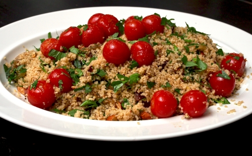 Couscous, Cherry Tomato & Herb Salad