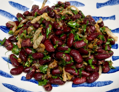 Georgian Kidney Bean Salad