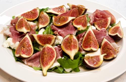 Marinated Figs with Mozzarella & Prosciutto